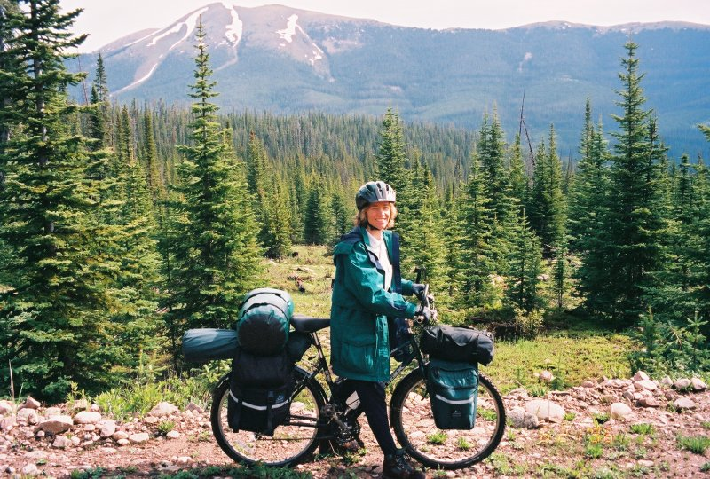 Touring with Panniers - Rocky Mountain High!
