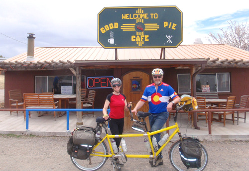 Pie Town, NM on the Great Divide Mountain Bike Route (GDMBR)