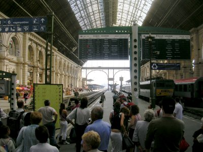 Budapest Train Station East