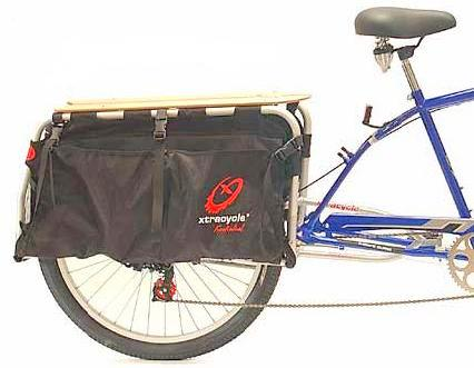 XtraCycle Wheelbase Extension and Big Long Bag